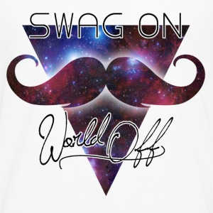 world off swag on Camisetas - Camiseta de manga larga premium hombre