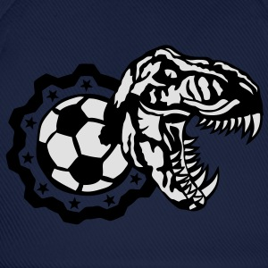 soccer foot tyrannosaure logo dinosaure Tee shirts - Casquette classique