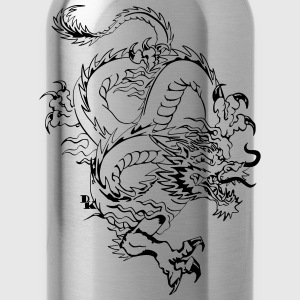 Chinese dragon by dk Tee shirts - Gourde