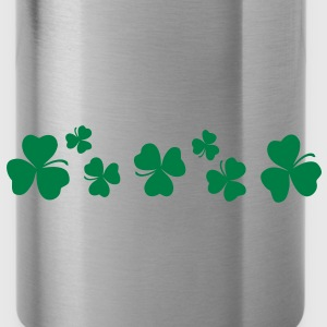Lucky charm st.Patrick's day Women's Plus Size Shi - Water Bottle
