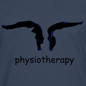 physiotherapy body move  T-Shirts - Men's Premium Longsleeve Shirt