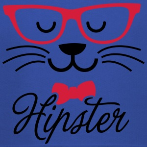 Swag hipsta hipster pussy cat animal style face T-Shirts - Kids' Premium Hoodie