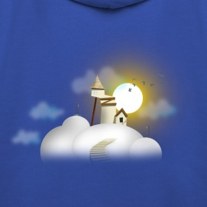 House in clouds - Day Tee shirts - Pull à capuche Premium Enfant