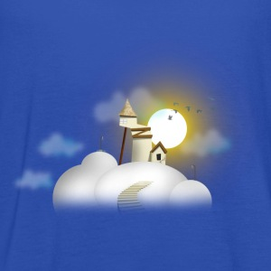House in clouds - Day Tee shirts - Débardeur Femme marque Bella