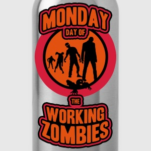 working Zombies Tee shirts - Gourde