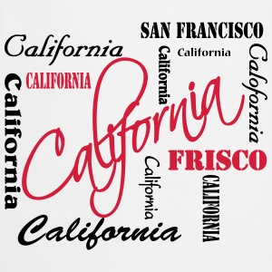 California T-shirts - Keukenschort