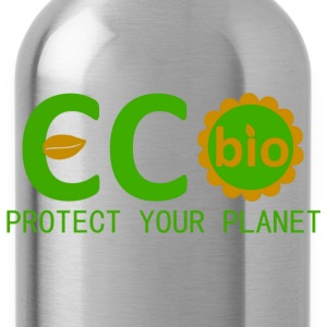 eco bio protect your planet T-shirts - Drinkfles