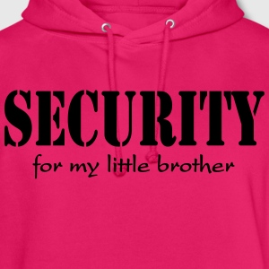 Security for my little Brother T-shirts - Luvtröja unisex
