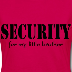 Security for my little Brother Shirts - Vrouwen Premium shirt met lange mouwen