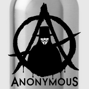 Anonymous A 2c T-Shirts - Trinkflasche