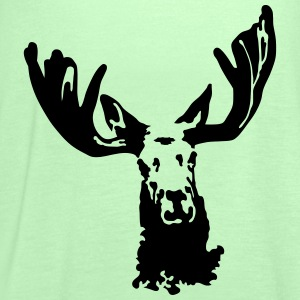 moose T-Shirts - Women's Tank Top by Bella