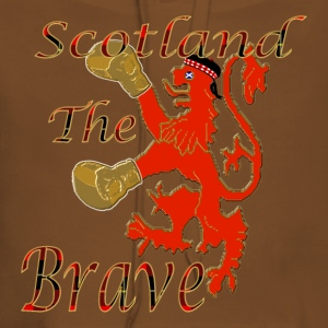 scotland boxing the brave T-Shirts - Women's Premium Hoodie