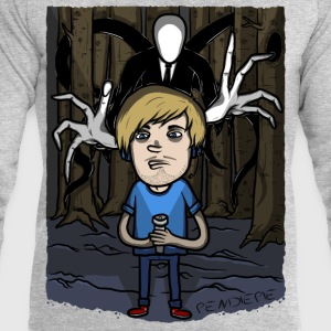 pewdiepie vs slender T-Shirts - Men's Sweatshirt by Stanley & Stella