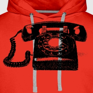 Old fashion phone - Men's Premium Hoodie