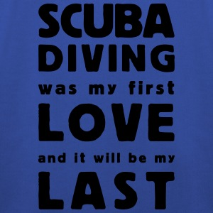 scuba diving was my first love - Kinder Premium Hoodie