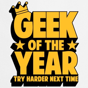 geek_of_the_year_02 T-shirts - Keukenschort