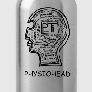 Physiohead T-Shirts - Trinkflasche