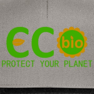 eco bio protect your planet T-shirts - Snapbackkeps
