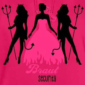 JGA - Braut security - Bride - Team - Teufel 2C T-Shirts - Unisex Hoodie