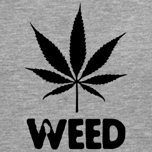 weed with leaf T-Shirts - Men's Premium Longsleeve Shirt