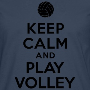 Keep calm and play Volley Tee shirts - T-shirt manches longues Premium Homme