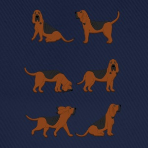 six bloodhounds T-shirts - Baseballkasket