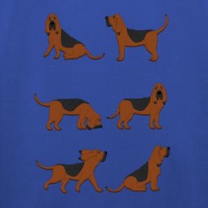 six bloodhounds T-Shirts - Kids' Premium Hoodie