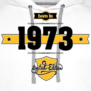 Born in 1973 - Men's Premium Hoodie