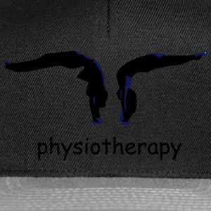 physiotherapy body move  T-Shirts - Snapback Cap