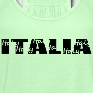 italia T-Shirts - Women's Tank Top by Bella