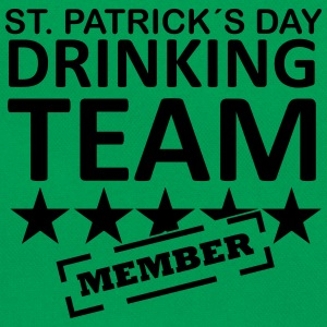 st. patrick´s day driking team member T-shirts - Retroväska