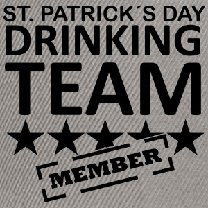 st. patrick´s day driking team member T-Shirts - Snapback Cap