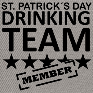 st. patrick´s day driking team member Magliette - Snapback Cap