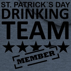 st. patrick´s day driking team member T-Shirts - Men's Premium Hooded Jacket