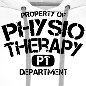 PT Departement Physiotherapie T-Shirts - Men's Premium Hoodie