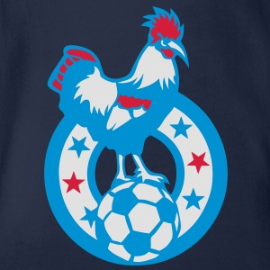 football coq symbol france embleme ballo Tee shirts - Body bébé bio manches courtes
