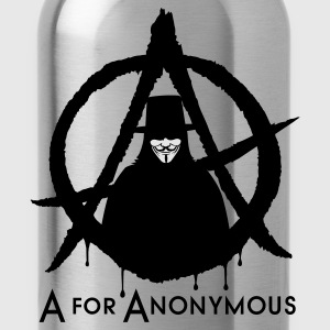 A for Anonymous 2c T-Shirts - Trinkflasche