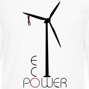 Windmill Eco Power  T-skjorter - Premium langermet T-skjorte for menn