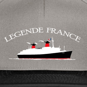 LÉGENDE PAQUEBOT FRANCE Tee shirts - Casquette snapback