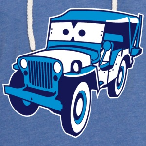 Cars for Kids: Safari-Jeep T-shirts - Lätt luvtröja unisex