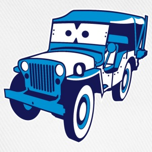 Cars for Kids: Safari-Jeep Skjorter - Baseballcap