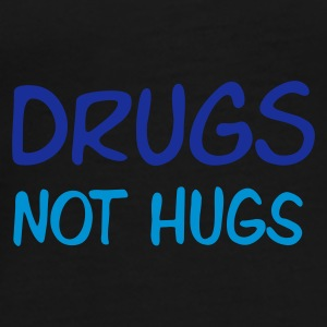 :: drugs not hugs :-: - Premium-T-shirt herr