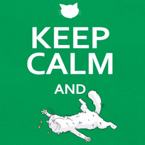 Keep calm and... be a cat - Sac Retro