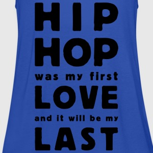 hip hop was my first love T-shirts - Dame tanktop fra Bella