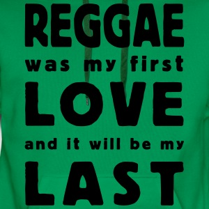 reggae was my first love T-shirts - Premiumluvtröja herr