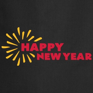 Happy New Year T-Shirts - Kochschürze
