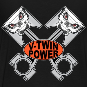 v-twin skulls Sweat-shirts - T-shirt Premium Homme