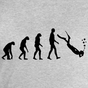 Evolution dive T-Shirts - Men's Sweatshirt by Stanley & Stella