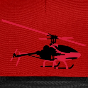 helicopter model Shirts - Snapback Cap