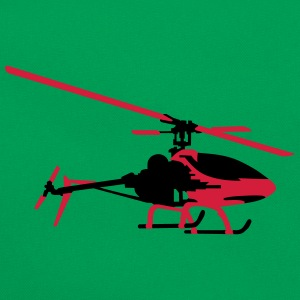 helicopter model T-Shirts - Retro Bag